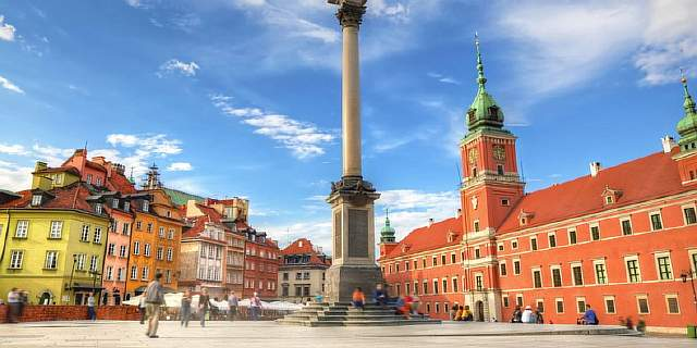 poland tours warsaw royal castle square l