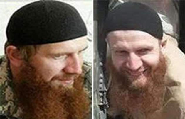 Senior Islamic State leader, Abu Omar al-Shishani, also known as Omar the Chechen.    REUTERS/US. Department of State
