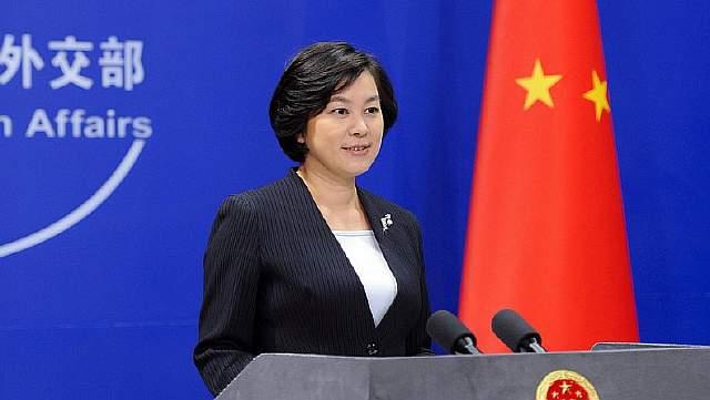 Пресс-секретарь Министерства иностранных дел Китая Хуа