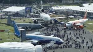 России будет запрещено показывать военные самолёты в Фарнборо