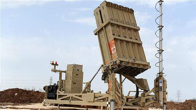 Израильская ракетная система Железный купол