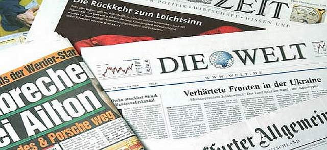German newspapers women quota