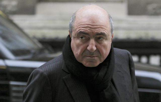 Russian oligarch Boris Berezovsky arrives at a division of the High Court in central London