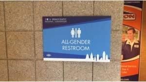 На съезде Демократической партии США женский туалет сделали общим для всех полов