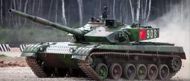 Подпись к изображению: Китайский основной боевой танк «Type-96B»