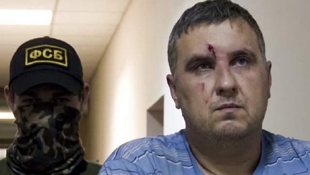 Один из захваченных в Крыму украинских диверсантов