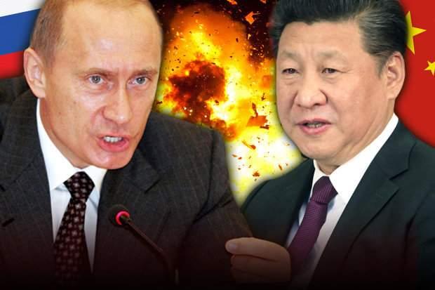 Подпись к изображению: Си Цзиньпин заявил, что когда Китай и Россия объединят свои силы, НАТО утратит свое влияние
