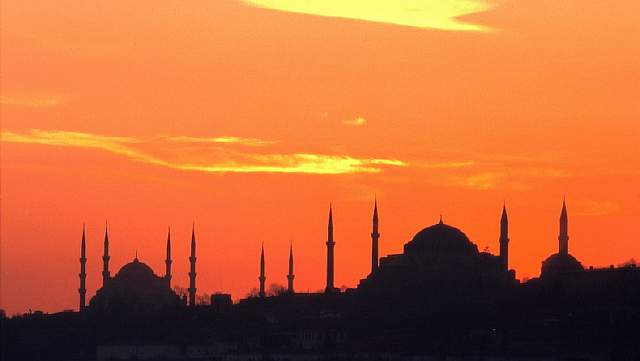Istanbul sites at dawn