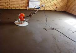 Полусухая стяжка в дом: преимущества