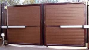 Современные откатные ворота — самое экономичное решение для гаража