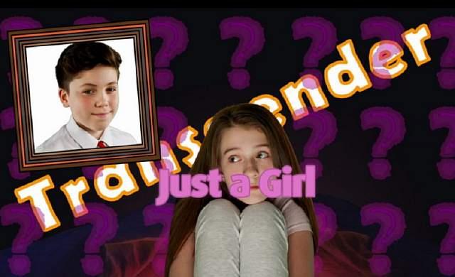 Подпись к изображению: Хотя Эми играет актриса, история подразумевает, что она на самом деле была мальчиком по имени Бен