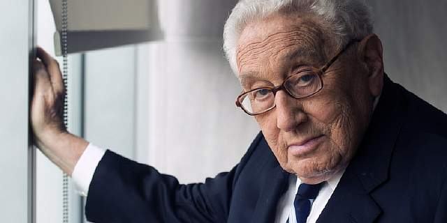Henry A. Kissinger, author of his new book World Order.