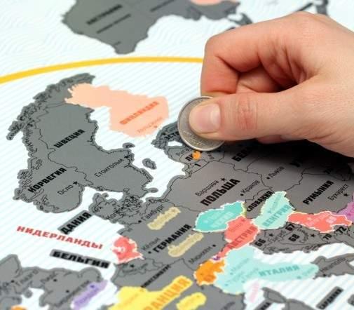 -карта мира Truemap Plus 1-505x505