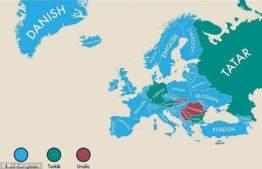 От испанского языка в США до татарского в России: увлекательная карта мира показывает второй язык каждой страны