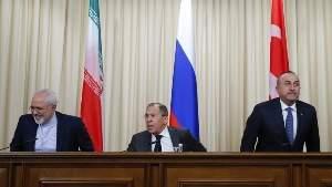 Иран, Россия и Турция решают судьбу Сирии