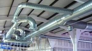 Комфортные условия в жилых и служебных помещениях обеспечит система вентиляции