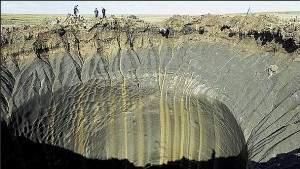 В Сибири обнаружено тысячи подземных газовых пузырей, готовых взорваться в любой момент