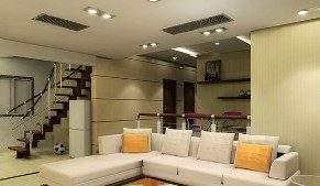Потолочные светильники делают обстановку в доме более современной