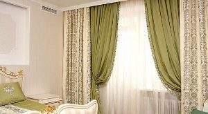 Как выбрать занавеску в спальню