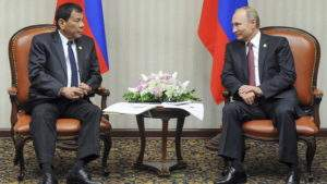 За визитом Дутерте в Россию пристально наблюдают