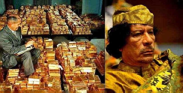 NATO-Destroyed-Libya-To-Prevent-Gold-Backed