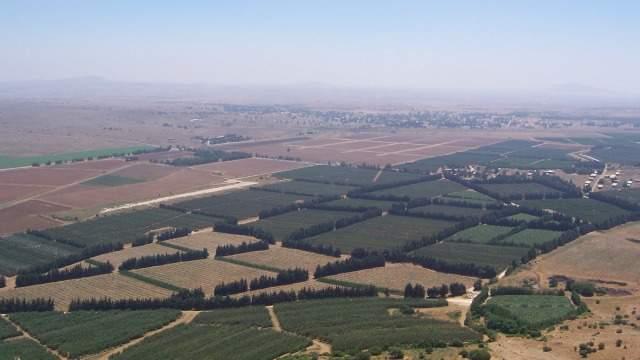 Сирийская часть Голанских высот