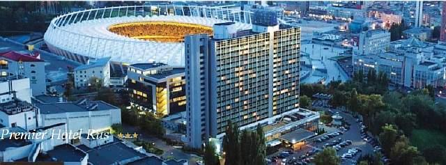отель Premier Hotel Rus в центре Киева