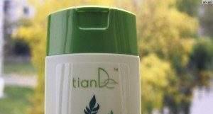 Один из популярных средств Тианде – шампунь от облысения, судя по отзывам от клиентов.