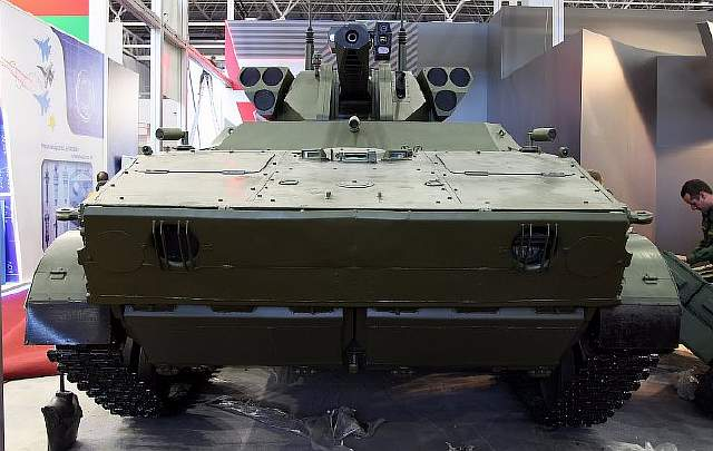 vikhrreconnaissance-assaultunmannedgroundvehiclewithabm-bsm30weaponturretonbmp-3chassisatmilitary-technicalforumarmy-201601