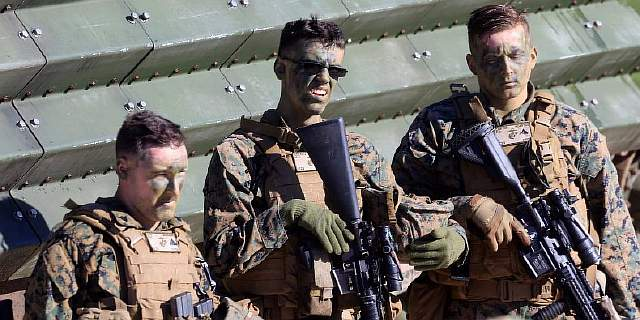 us navy marines nato