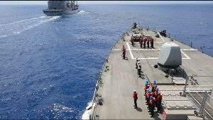 Америка посылает сигнал России, демонстрируя свою военную мощь в Черном море