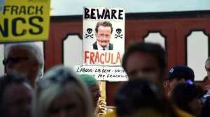 Благодаря антифрекинговому лобби Британия не сможет обойтись без российского газа