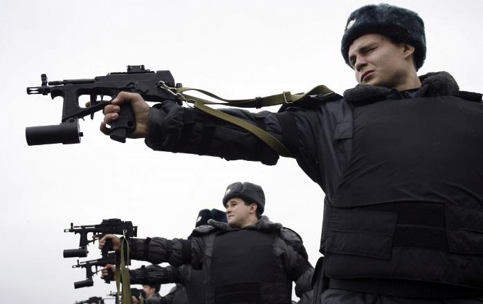 russianmilitarypoliceattherange