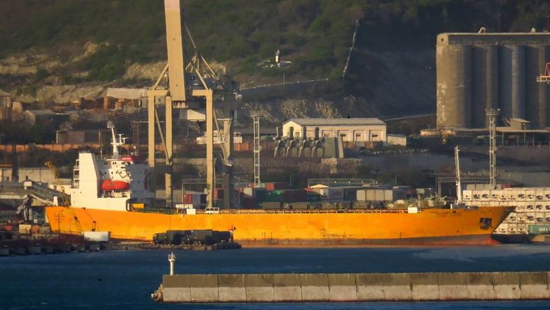 Недавняя загрузка судна в Новороссийске