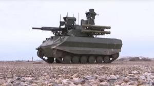 Первый опыт боевого применения российского «Урана-9» в Сирии