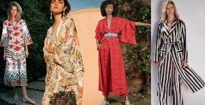 Скромный домашний халат прошел длинный путь от нижнего белья до безумно эффектного наряда
