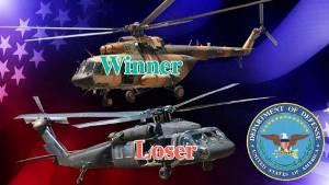 Пентагон признаёт, что американские вертолёты не смогут стать полноценной заменой российским машинам в Афганистане
