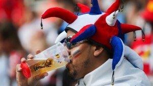 В России не ожидали, что футбольным фанатам нужно так много пива