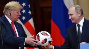 Пепе Эскобар: на встрече с Путиным в Хельсинки Трамп пустился во все тяжкие