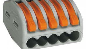На рынке большим спросом пользуются самозажимные клеммы немецкого производителя WAGO
