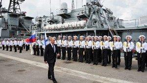 Россия строит военные корабли быстрее, чем США и даже Китай