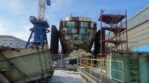 Россия намерена начать демонтаж одного из самых радиоактивных кораблей