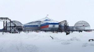 Россия строит очередную военную базу на востоке Арктики