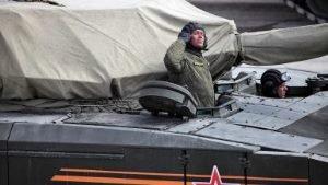 Россия испытает боевой танк Т-14 «Армата» в Арктике
