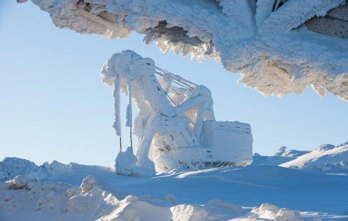 В России есть места, где люди работают в условиях самых низких в мире температур