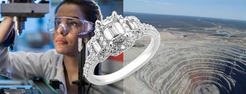 Изготовленные в Китае алмазы могут потрясти мировые рынки