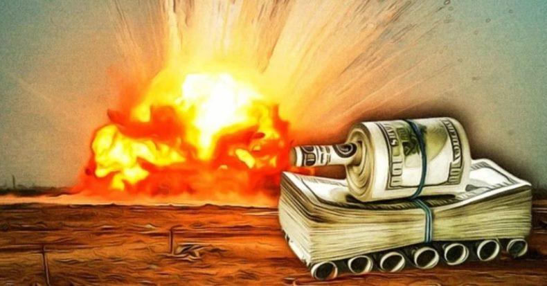 Начиная с 2001 года, Америка стала тратить на войну 32 миллиона долларов в час