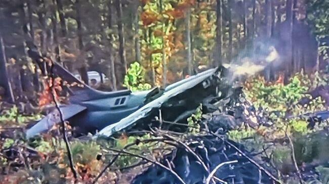 В США разбился четвёртый за этот месяц боевой самолёт