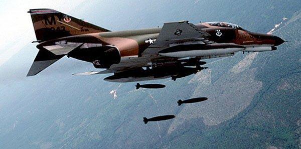 Когда-то ВВС США обещали, что F-4 никогда не придётся участвовать в ближнем воздушном бою