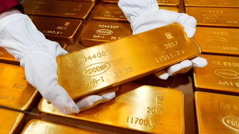 Золотовалютные запасы России превысили «психологические» $500 миллиардов, вернувшись к досанкционным уровням